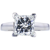 2.12 ct. Princess Cut Solitaire Ring, J, VS2 #1