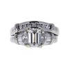 1.04 ct. Emerald Cut Bridal Set Ring, D, VS2 #3