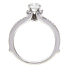 1.2 ct. Round Cut Bridal Set Ring, G, SI2 #4
