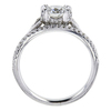 1.21 ct. Round Cut Bridal Set Ring, G, I1 #2