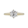1.23 ct. Round Cut Solitaire Ring, H, I2 #3