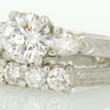 1.57 ct. Round Cut Bridal Set Ring #1