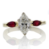 1.01 ct. Marquise Cut Solitaire Ring #4