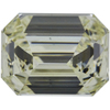 4.57 ct. Emerald Cut 3 Stone Ring, M-Z, VS2 #4