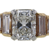 1.17 ct. Radiant Cut Bridal Set Ring #4