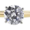 1.22 ct. Round Cut Bridal Set Ring, I, I2 #4