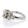 1.33 ct. Oval Cut Central Cluster Ring #3