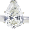 1.41 ct. Pear Cut Solitaire Ring, J, I1 #4