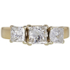 0.79 ct. Princess Cut Bridal Set Ring, G-H, SI1 #1