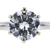 1.37 ct. Round Cut Solitaire Ring, G, SI2 #2