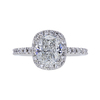 1.81 ct. Cushion Cut Halo Ring, G, SI1 #3