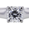 1.02 ct. Cushion Cut Bridal Set Ring #3