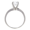 1.0 ct. Round Cut Solitaire Ring, F, SI1 #4