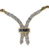 Round Cut Chain Necklace, G-H, VS2-SI1 #1