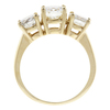 1.0 ct. Round Cut 3 Stone Ring, J, SI1 #4