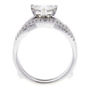 1.21 ct. Triangular Cut Bridal Set Ring, G-H, I1 #2