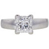2.07 ct. Princess Cut Solitaire Ring, D, SI1 #2
