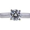 1.01 ct. Round Cut Bridal Set Ring, G, I1 #4