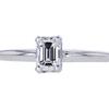 1.00 ct. Emerald Cut Solitaire Ring, E, VS2 #3