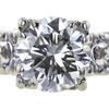 1.95 ct. Round Cut Bridal Set Ring #2