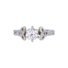 0.68 ct. Round Cut Solitaire Ring, H, VS1 #3