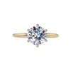 1.69 ct. Round Cut Solitaire Ring, H, VVS2 #3