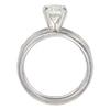 1.1 ct. Round Cut Bridal Set Ring, J, VS1 #4
