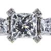 1.51 ct. Princess Cut Solitaire Ring, H, SI1 #4