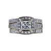 1.22 ct. Princess Cut Bridal Set Ring, I, VVS1 #2