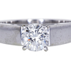 1.02 ct. Round Cut Solitaire Ring #3