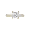 1.2 ct. Princess Cut Solitaire Ring, H, SI2 #3