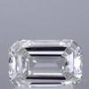 1.2 ct. Emerald Cut Solitaire Ring, H, VVS2 #1