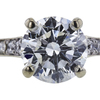 1.11 ct. Round Cut Solitaire Ring, I, I1 #4