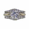 2.06 ct. Round Cut Bridal Set Ring, I-J, I1-I2 #2