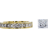 1.56 ct. Princess Cut Eternity Band Ring, H, VS2 #3