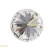 0.66 ct. Round Cut Stud Earrings, H, SI1 #4