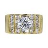 1.16 ct. Round Cut Bridal Set Ring, I, SI2 #3