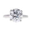 3.63 ct. Round Cut Solitaire Ring, F, I3 #2
