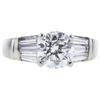 1.56 ct. Round Cut Bridal Set Ring, J, SI2 #1