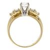 0.72 ct. Round Cut Bridal Set Ring, E, VS2 #4