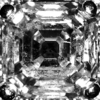1.06 ct. Asscher Cut Halo Ring #1