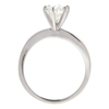 1.02 ct. Round Cut Bridal Set Ring, E, VS1 #4