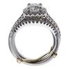1.2 ct. Round Cut Bridal Set Ring, I-J, I2 #3