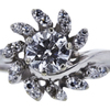 0.65 ct. Round Cut Bridal Set Ring, G, SI1 #4