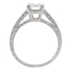1.34 ct. Round Cut Solitaire Ring, H, SI2 #4