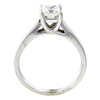 0.91 ct. Princess Cut Bridal Set Ring, F-G, SI2 #3