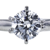 1.00 ct. Round Cut Solitaire Ring, D, SI2 #2