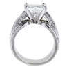 2.20 ct. Princess Cut Solitaire Ring, H, SI1 #2