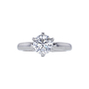 1.22 ct. Round Cut Solitaire Ring, H, SI1 #2