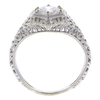 0.74 ct. Round Cut Bridal Set Ring, E, SI1 #4